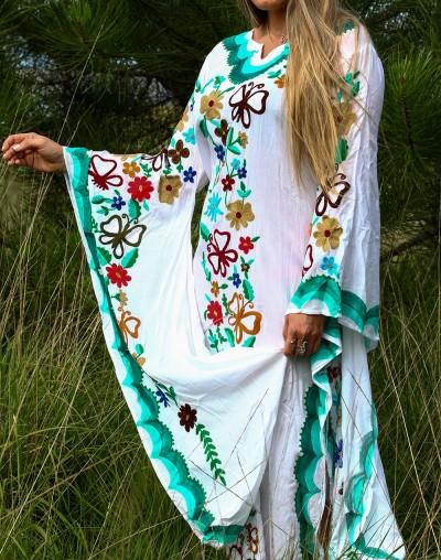 Vestido Mexicano - Verde