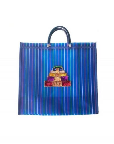 Bolsa Pirámide Azteca XL