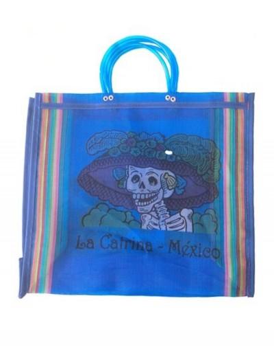 La Catrina Bag Blue
