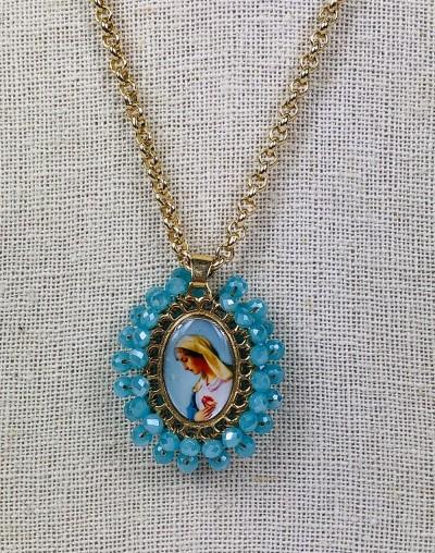 Corazón de María Medallion