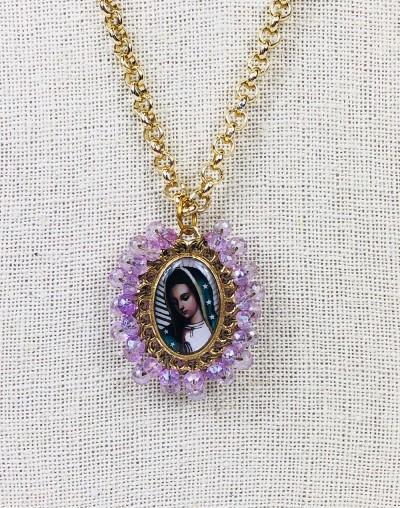 Virgen de Guadalupe Medallion