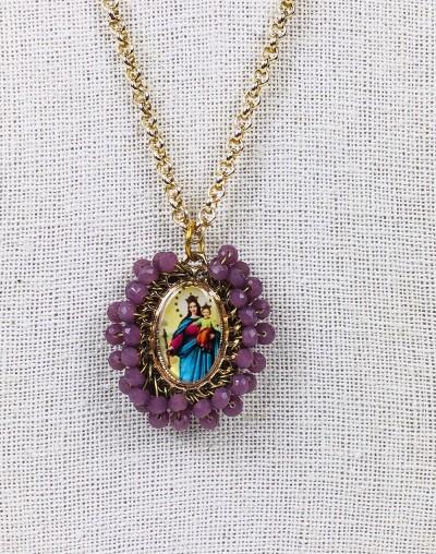 Maria Auxiliadora Medallion