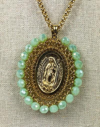 Medalla XXL Virgen de Guadalupe