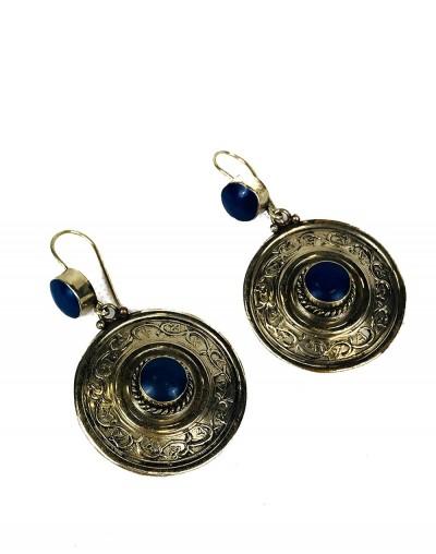Chakra Lapis Lazuli Earrings