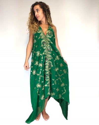Green Saree Dress