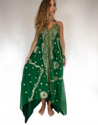 Vestido Saree Verde (Agotado)