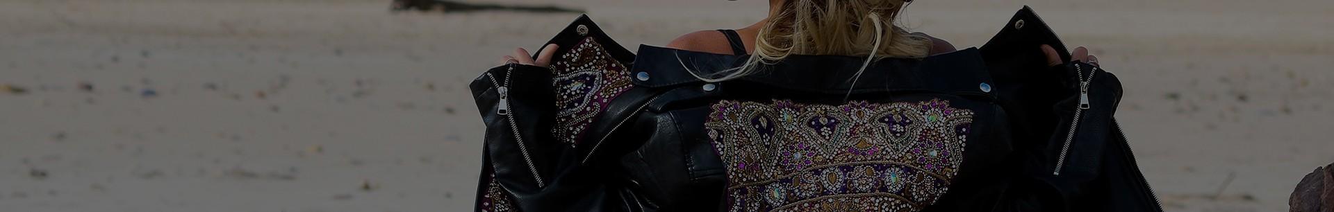 Cazadoras vintage bordadas | Lakshmisoul