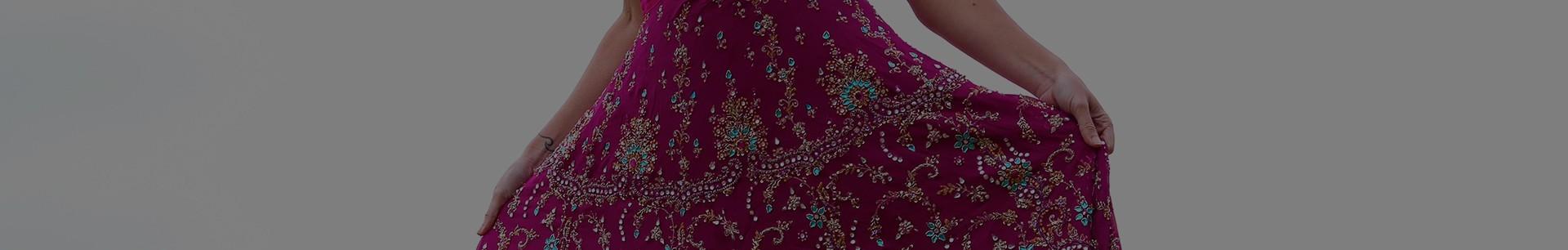 Faldas vintage bordadas de novia india | Lakshmi Soul